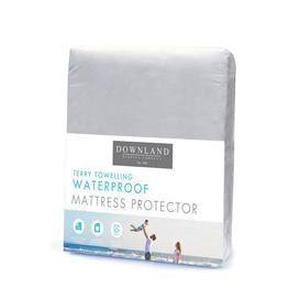 image-Downland Breathable Waterproof Terry Towelling Mattress Protector