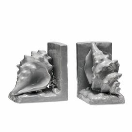 image-Conch Bookends House of Hampton