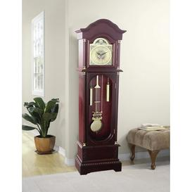 image-182cm Grandfather Clock Astoria Grand Finish: Cherry