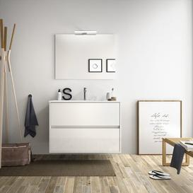 image-Karlin 810mm Wall Hung Single Vanity Unit Brayden Studio