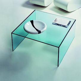 image-Coffee Table Wade Logan Size / Finish: 40 cm H x 128 cm W x 68 cm D / Optiwhite glass