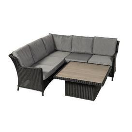 image-Kalil 5 Seater Rattan Corner Sofa Set Sol 72 Outdoor