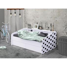image-Evry Daybed Brayden Studio Colour: White, Size: Single (3')