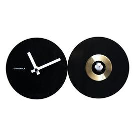 image-Cuckoo 40cm Wall Clock Cloudnola Colour: Black