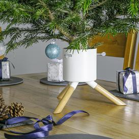 image-Harbour Housewares Artificial Tree Stand