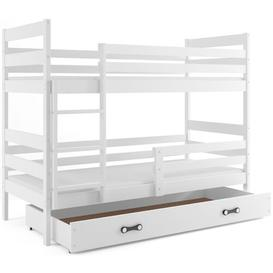 image-Arlette Bunk Bed with Drawer Mack + Milo Bed surface area: Single (3'), Bed Frame Colour: White/White
