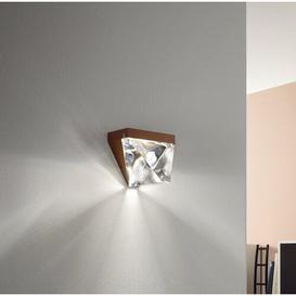 image-Tripla 1-Light LED Flush Mount Fabbian Finish: Anthracite