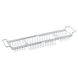 image-Metal Free Standing Bath Rack Sabichi