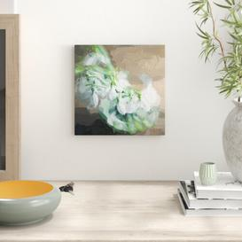 image-Snowdrops in a Vase Art Print on Canvas East Urban Home