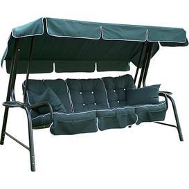 image-Ribeiro 4 Seater Hammock Cushion Set Dakota Fields Colour: Hunter Green