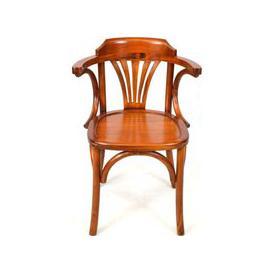 image-Ancient Mariner Mahogany Village Occasional Chair