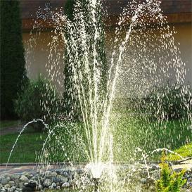 image-Wasserwerk Solar Pond Fountain with Light Blumfeldt