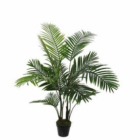 image-Artificial Palm Tree in Pot Bay Isle Home