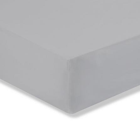 image-Easycare Cotton 180 Thread Count Fitted Sheet Grey