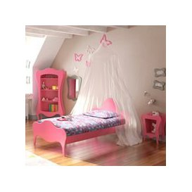 image-Mathy by Bols Volute Kids Bed - Mathy Winter Pink
