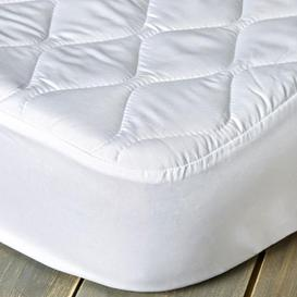 image-Fogarty Anti Allergy 30cm Mattress Protector White