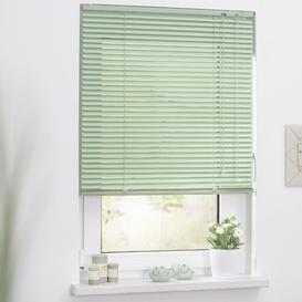 image-Sheer Venetian Blind Symple Stuff Size: 90cm W x 220cm H, Colour: Green