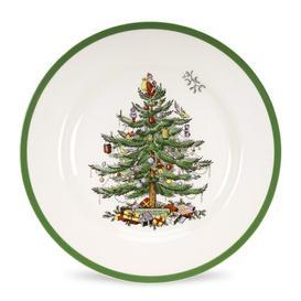 image-Christmas Tree Flexo Dinner Plate Spode