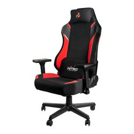 image-NITRO CONCEPTS X1000 Gaming Chair - Black & Red, Black