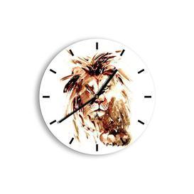 image-Sabra Silent Wall Clock Brayden Studio Size: 30cm H x 30cm W x 0.4cm D