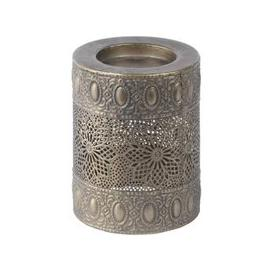 image-Libra Filigree Pillar Candle Holder - Xmas-18