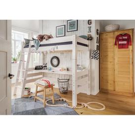 image-Lewis European Single High Sleeper Bed Isabelle & Max