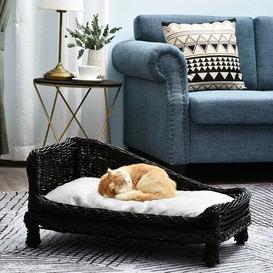 image-Brayson Dog Sofa in Black Archie & Oscar
