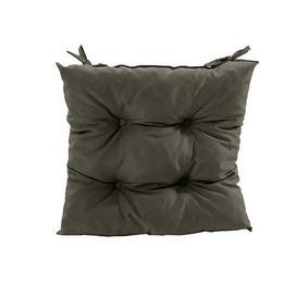 image-Garden Dining Chair Cushion Dakota Fields Colour: Grey