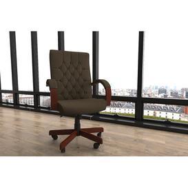 image-Executive Chair Brayden Studio Colour: Brown