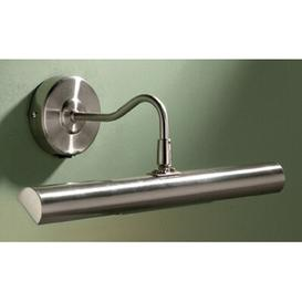 image-2 Light Wall Mounted Picture Light Three Posts Finish: Satin Chrome