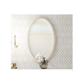 image-Camel Altea Italian Oval Mirror - 80cm x 125cm
