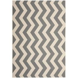 image-Patricia Looped/Hooked Grey Indoor/Outdoor Rug Breakwater Bay Rug Size: Rectangle 120 x 180cm