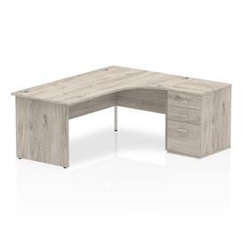 image-Zetta Executive Desk Ebern Designs Size: 73 cm H x 180 cm W x 80 cm D