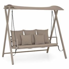 image-Lambalot Swing Seat with Stand Sol 72 Outdoor Colour: Champagne
