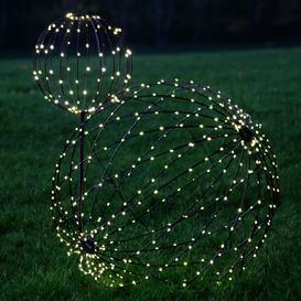 image-Large Sphere Solar Light