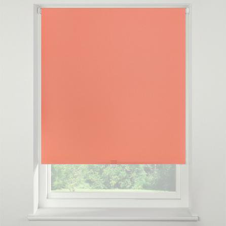 image-Swish Coral Cordless Blackout Roller Blind Coral