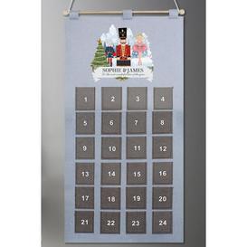 image-Personalised Nutcracker Advent Calendar