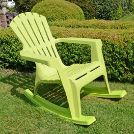 image-Monatuk Rocking Chair Sol 72 Outdoor Colour: Lime