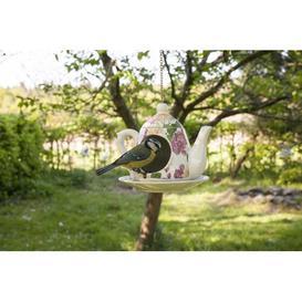 image-Debose Freestanding Birdhouse Fleur De Lis Living