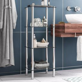 image-Yago 40cm x 104cm Bathroom Shelf Metro Lane