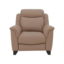 image-Parker Knoll - Manhattan Leather Armchair - Mink