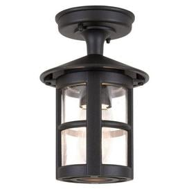 image-Elstead BL21A Hereford exterior black flush porch light, IP23