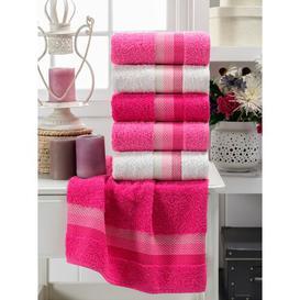 image-Rumaisa 6 Piece Hand Towel Same-Size Bale
