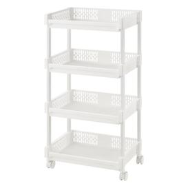image-Lexi Kitchen Trolley with Plastic Top Symple Stuff
