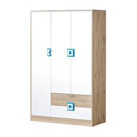 image-Nico NI-03 Wardrobe 120cm - White Matt 120cm
