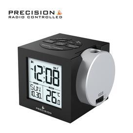 image-Precision Radio Controlled Projection Digital Alarm Clock