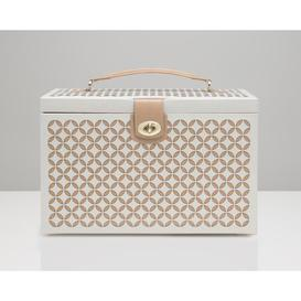 image-Chloé Large Jewellery Box WOLF Colour: White