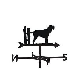 image-Weathervane in Italian Spinone Design - Large (Traditional)