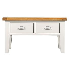 image-Hove Off-White Painted Furniture Coffee Table
