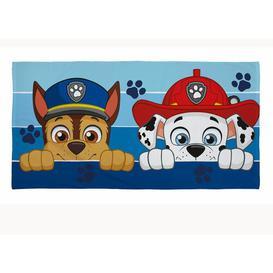 image-Paw Patrol 2 Piece Beach Towel Paw Patrol